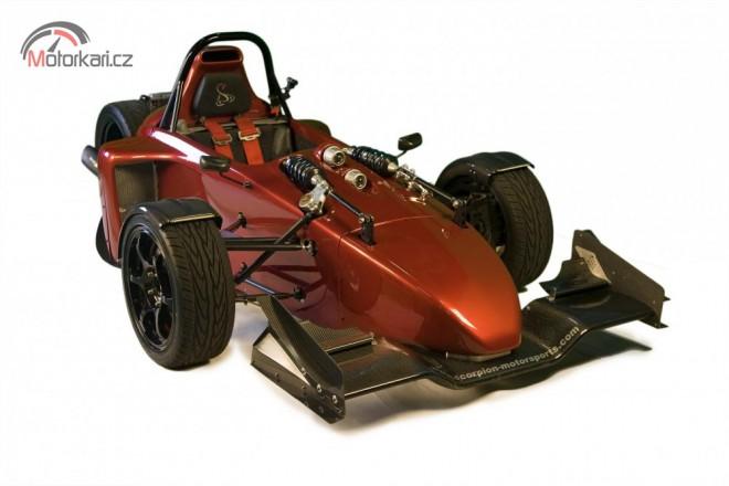 Scorpion P6 - tøíkolka s motorem z Ninji