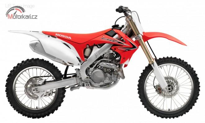 Honda p�edstavila motokrosy 2012