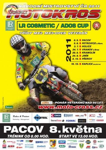 V Pacovì zaèíná mistrovství ÈR v motokrosu