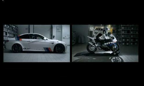 BMW S1000RR vs. BMW M3 na okruhu