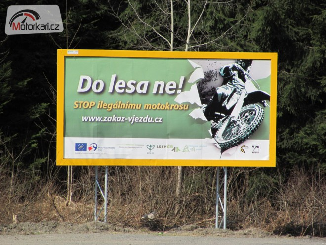 """Do lesa ne!"" øvou billboardy"