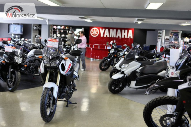 Nov� dealer Yamaha na Vrbovce