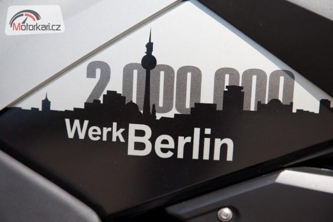 Berlínský závod BMW oslavil 2.000.000 motocyklù