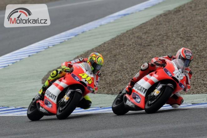 Ducati vìøí ve sluneèné poèasí