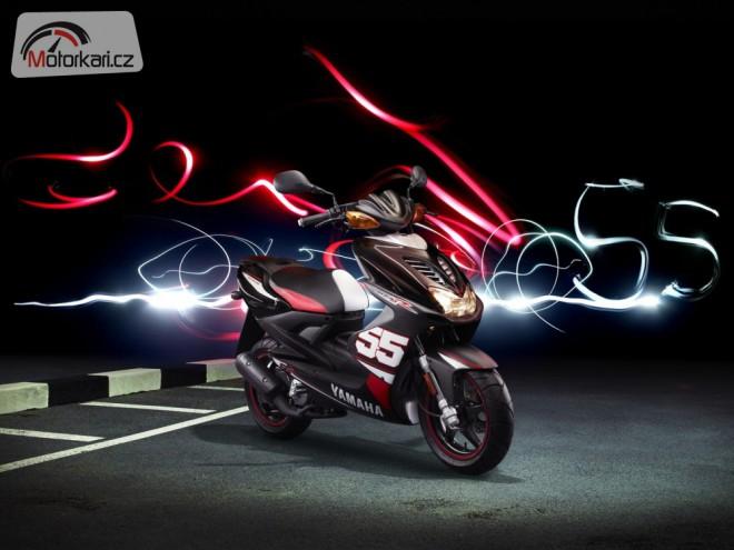 Yamaha pøipravila speciální edici skútru Aerox SP55
