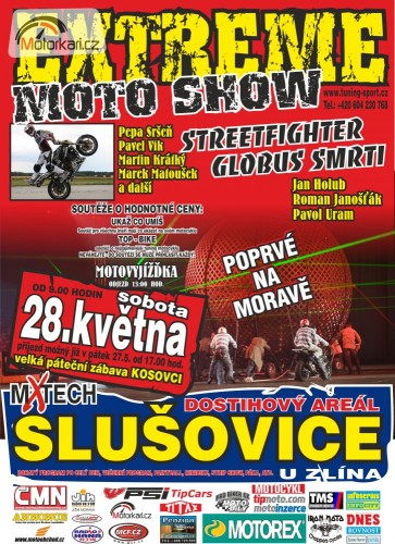 Extreme moto show Slušovice