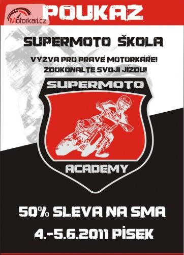 Vyhrajte poukaz na Supermoto Academy