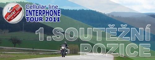 Interphone tour 2011 - 1. èeská pozice