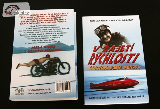 Soutìž o 2 knihy V zajetí rychlosti - Životopis Burta Munroa