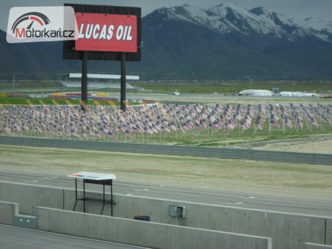 Miller Motorsports Park - volný trénink