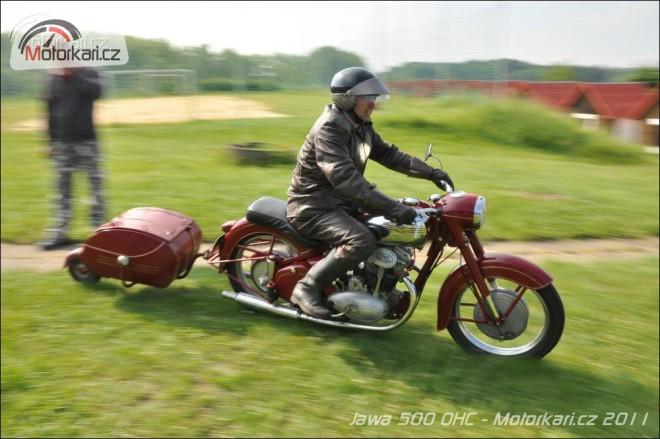 Jawa 500 OHC v Troskách