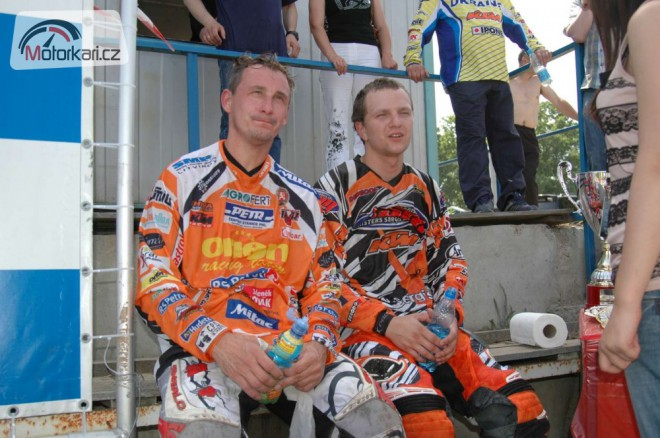 Èeský reprezentant v motokrosu Petr Bartoš slavil úspìch i na Ukrajinì