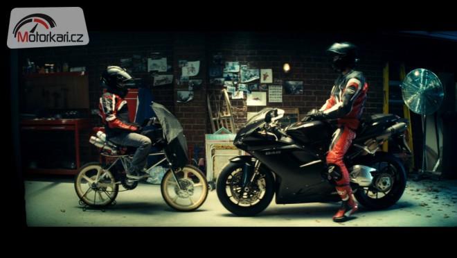 Ducati 848 v klipu za bezpeènost provozu
