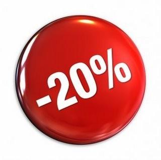 -20% na vybrané zboží v nové prodejnì Paolo Vrbovka