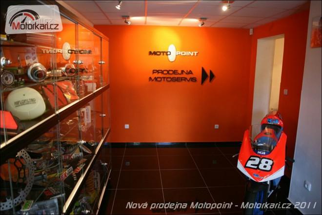 Nová prodejna Motopoint v Praze