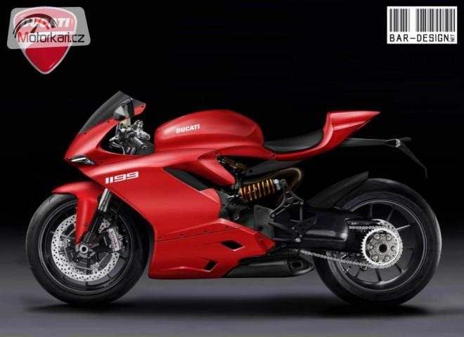 Ducati 1199 - maska superbiku odhalena