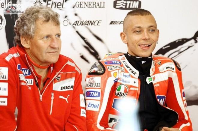 Mugello-GP: Rossi bude v boxu bez Burgesse