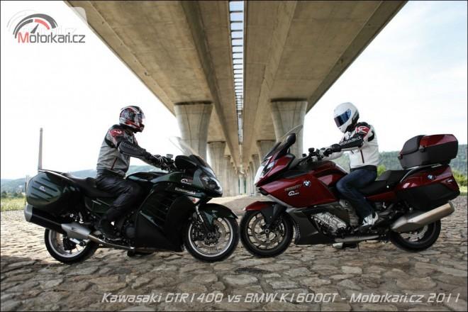 Kawasaki 1400GTR & BMW K1600GT