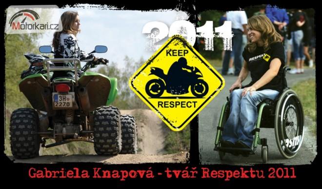 Respekt - jeden den pro všechny motorkáøe