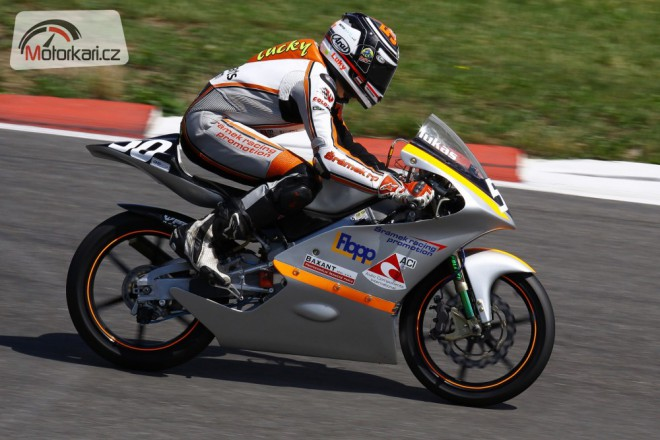 Šrámek racing promotion v èele Alpe Adrie