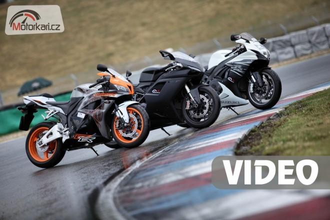 Honda CBR600RR vs Suzuki GSX-R600 vs Ducati 848 EVO