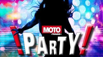 Motohouse Whiteblue Party