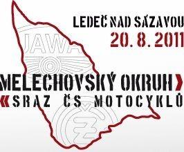 Melechovský okruh 2011: Sraz ès. motocyklù