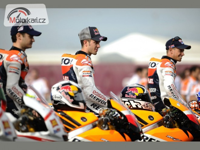 MotoGP 2012: Jen pìt jezdcù na Hondách?