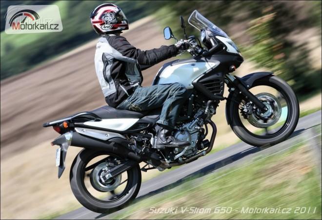 Suzuki V-Strom 650 ABS - první dojmy