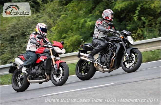 MV Agusta Brutale 920 & Triumph Speed Triple 1050