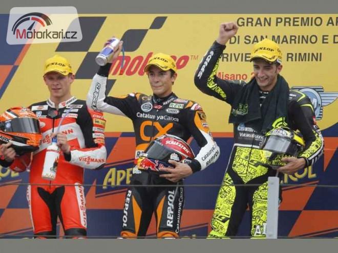 Marquez testoval ve Valencii