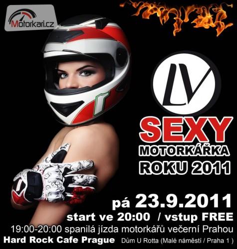 Sout� o VIP vstupenky na LV Sexy motork��ku roku 2011