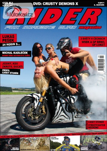 Rider magazine s DVD rusty Demons 10