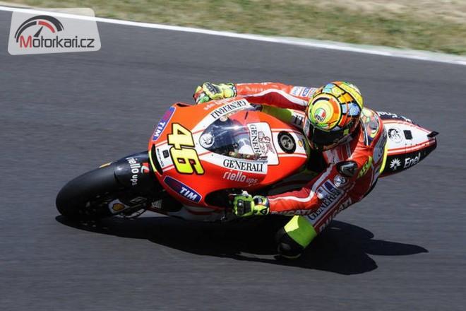 Rossi testoval v Jerezu