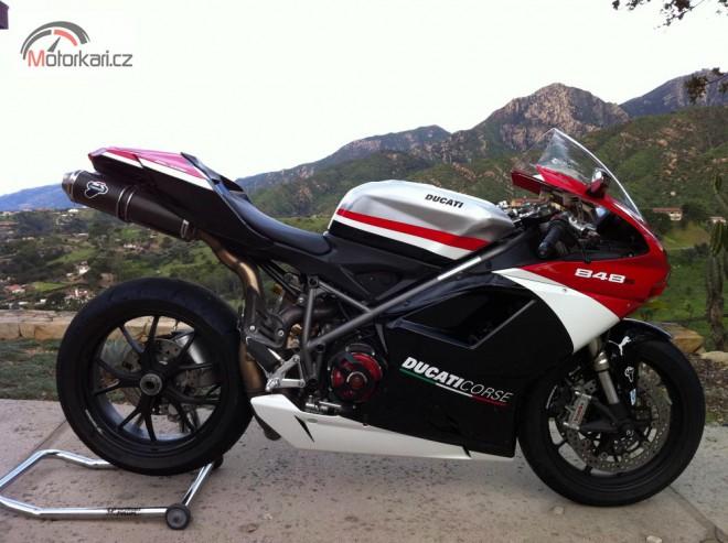 Pøedstaví se na podzim Ducati 848 EVO Corse?