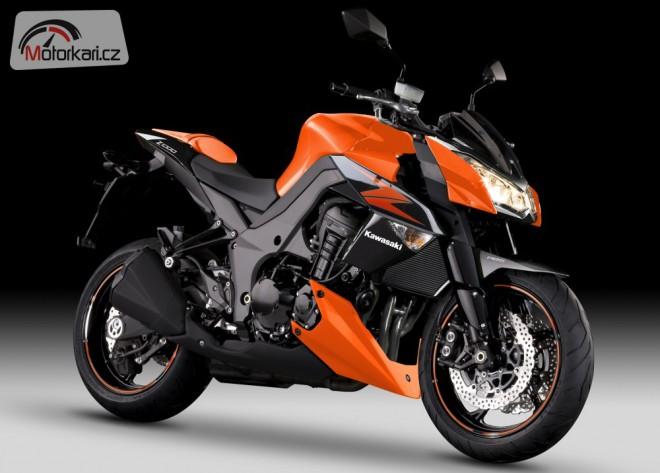"Kawasaki pøedstavilo barvy 2012 pro ""Zedy"""