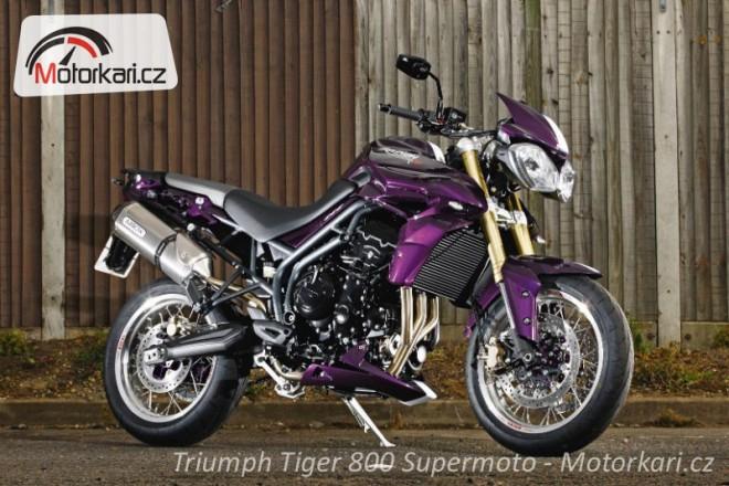 Triumph Tiger 800 Supermoto