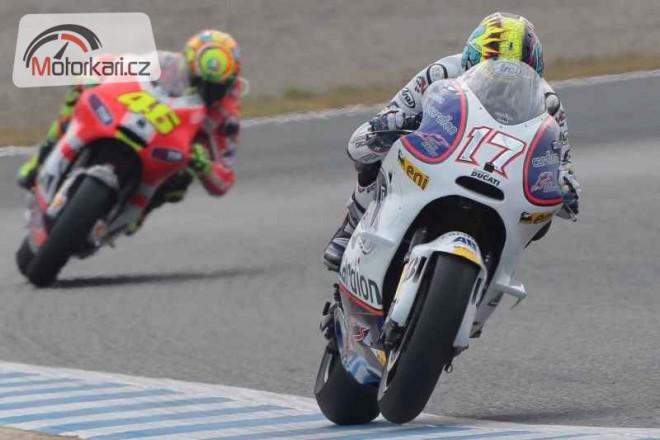 MotoGP se pøesouvá na Abajùv oblíbený okruh