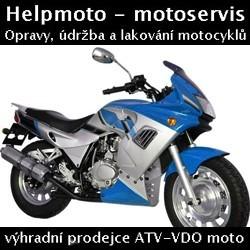 V.D.O. Moto novì nedaleko Karlových Varù