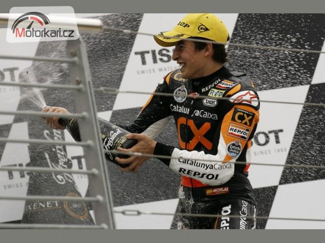 Marquez z�st�v� v Moto2