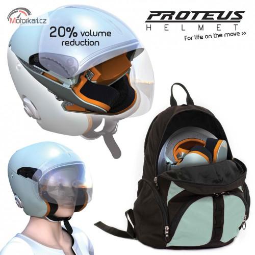 Proteus - nová skládací helma
