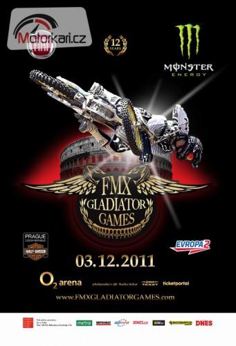 XII. roèník FMX Gladiator Games – letos to bude na krev