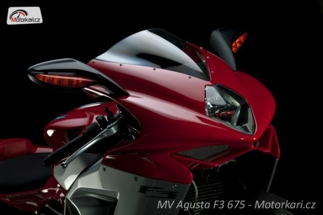 MV Agusta F3 675 - detaily supersportu