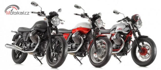 Evoluce motoru Moto Guzzi V7