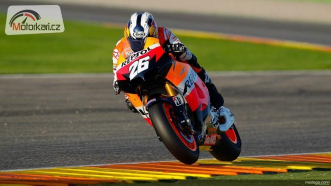 Testy MotoGP - Valencia, 1. den