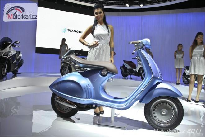 Eicma: Piaggio Group