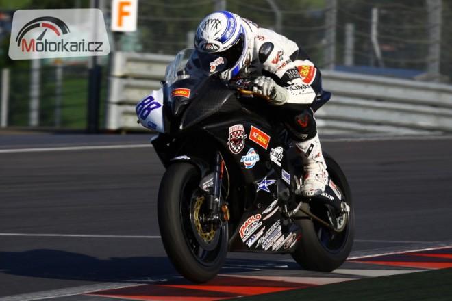 Èerný pojede v roce 2012 za Vector KM Racing
