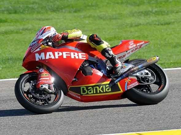 Testy Moto2 ve Valencii