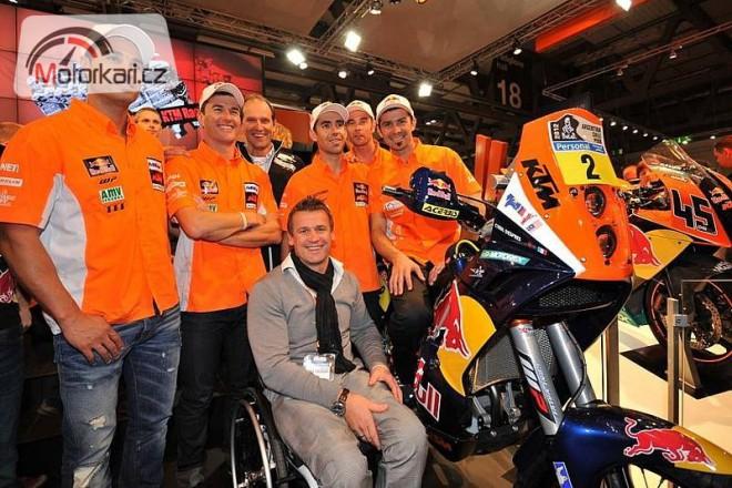 Továrna KTM oznámila jezdce pro Dakar 2012