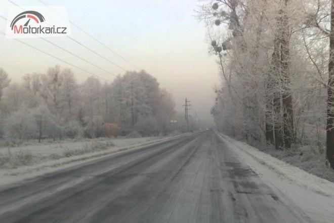 Cesta na snìhu do Ostravy a zpátky